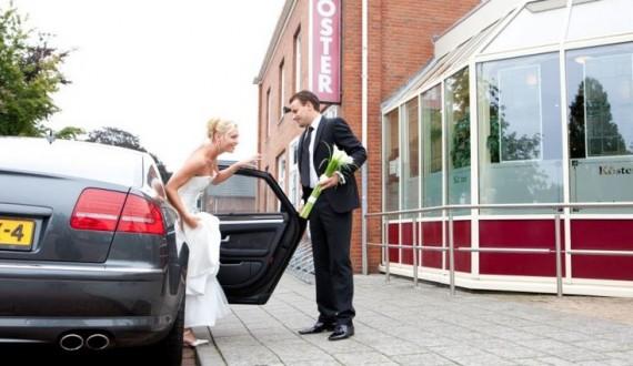 Entree trouwlocatie koster
